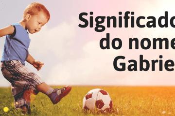 foto escrita significado do nome gabriel