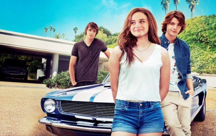 capa do filme Barraca do Beijo com os três atores principais