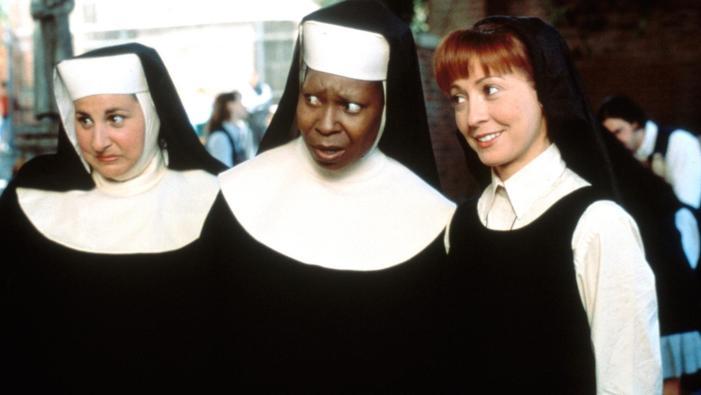 freiras do filme Mudança de Hábito