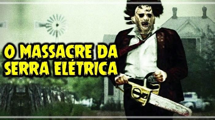 capa do filme O massacre da serra elétrica de 1974