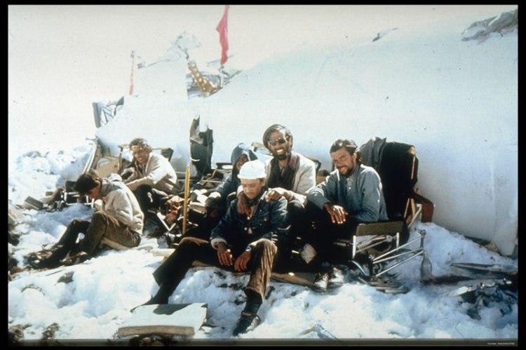 filme vivos - cena na neve