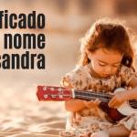 foto escrita significado do nome Alessandra