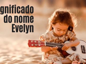 foto escrita significado do nome Evelyn