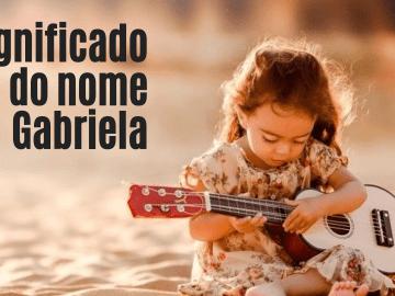 foto escrita significado do nome Gabriela