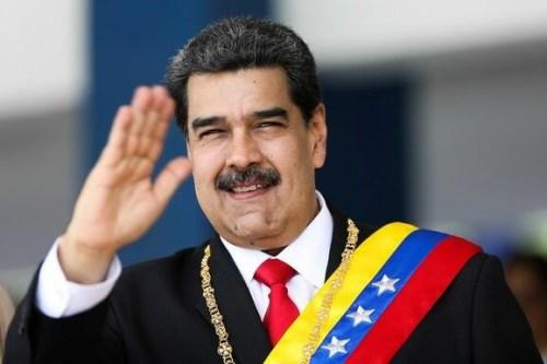 foto do político Nicolás Maduro