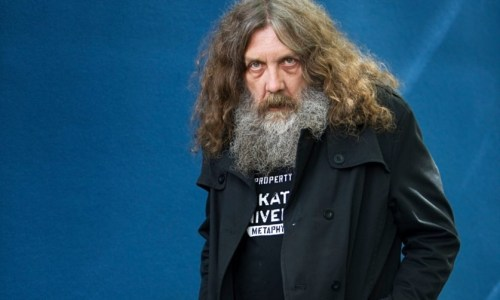 foto do famoso Alan Moore