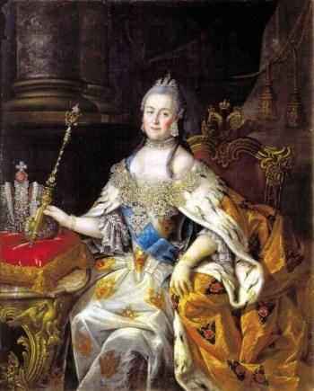 foto da Catarina II da Rússia