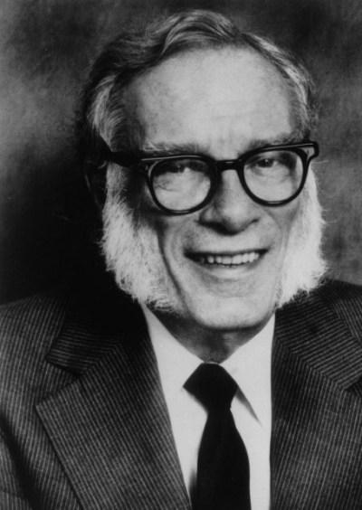 foto do famoso Isaac Asimov