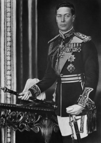 foto do famoso Jorge VI do Reino Unido