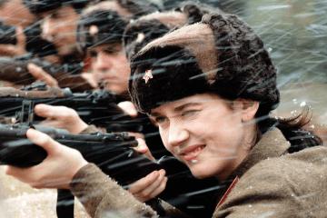 cena do filme Olga com a protagonista