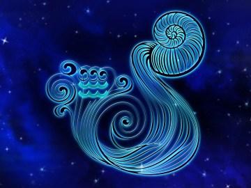 Simbolo do signo de aquário