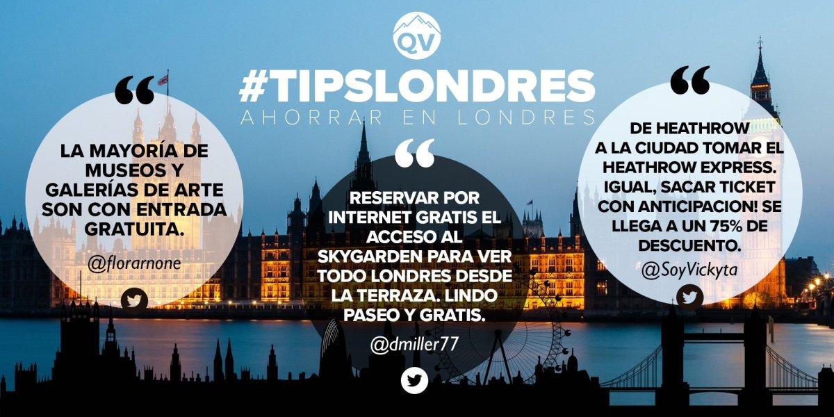 Tips Londres: cómo ahorrar plata y hacer tu visita más eficiente