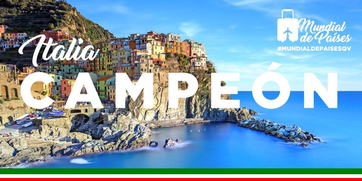 ITALIA CAMPEÓN DEL #MUNDIALDEPAISESQV