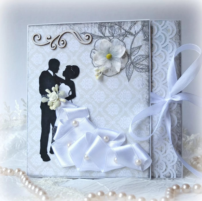 Свадебные открытки своими руками скрапбукинг идеи