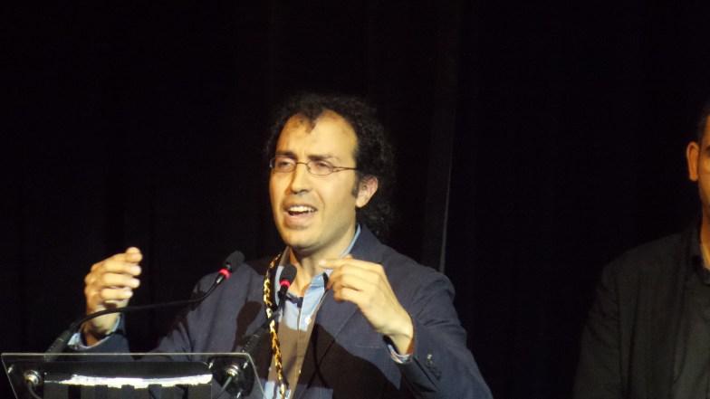 Photo prise à la 3e édition du festival international de cinéma et mémoire commune de Nador