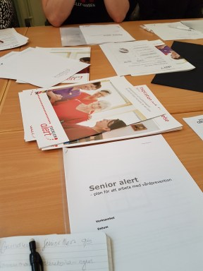 The discussions during the day showed a great variation in the use of Senior alert in daily work.
