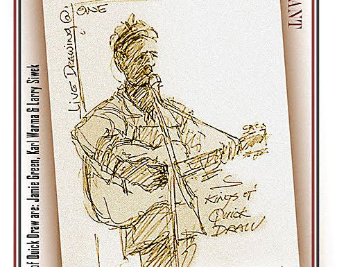 """QU Artists and Local Musicians Host """"Kings of Quick Draw"""" Fundraiser at One Restaurant"""