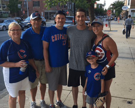 Cubs Mania has hit Quincy With A Burning Passion