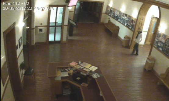 QU security wants help finding trespasser