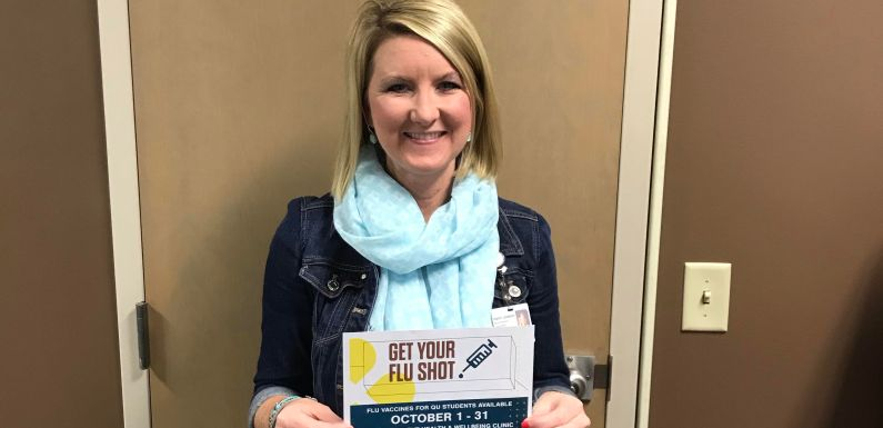 Student Health and Well-Being Clinic Offers Flu Shots