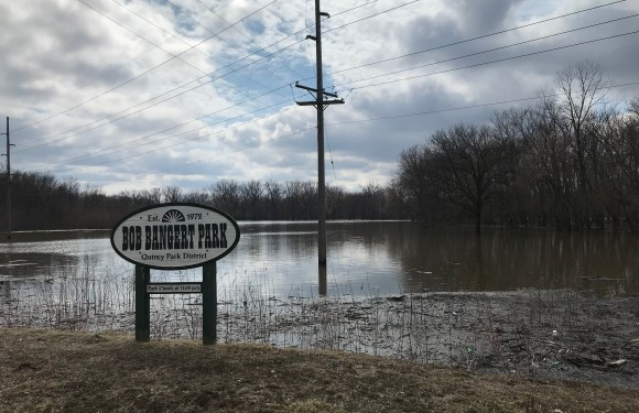 Spring flooding impacts area parks