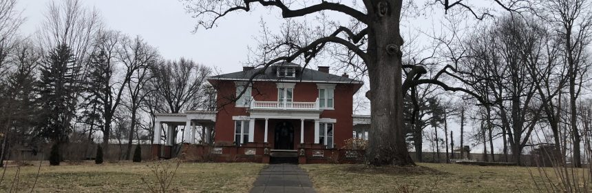 This is a picture of Monckton Mansion located on Locust Street in Quincy, Illinois.