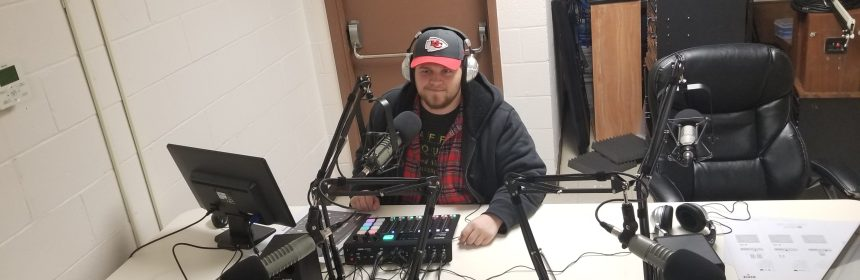 This is a picture of the QU Podcast Network Studio.