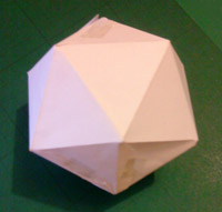 Icosahedron - just before it fell apart
