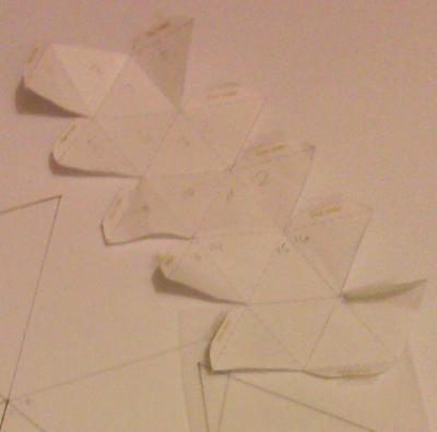Icosahedron prep
