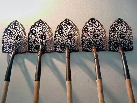 Shovels by Cal Lane