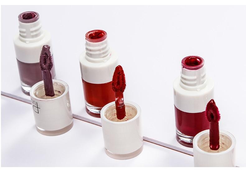 QUO ARTEM Pudaier-16Color-Matte-Lipstick-Lipgloss-Ruby-Rose-Lips-Gloss-Long-Lasting-Tint-Pigment-Liquid-Lipsticks-Mat Shop