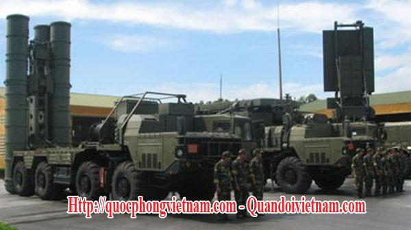 Tên lửa S-300PMU1 cùng hệ thống radar 96L6E phòng không tầm xa của lực lượng Phòng Không - Không Quân Việt Nam