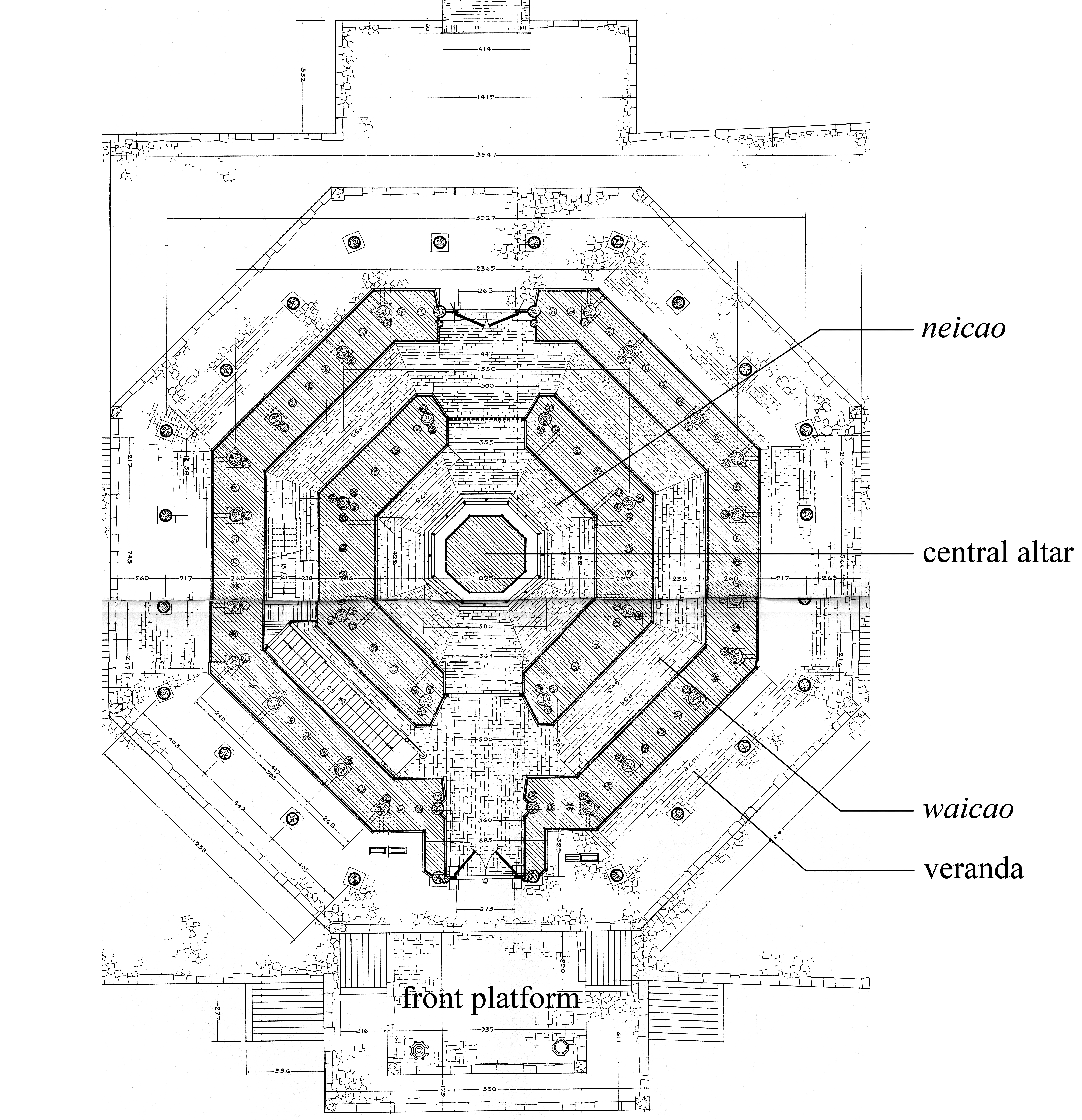 Performing Center In A Vertical Rise Multilevel Pagodas