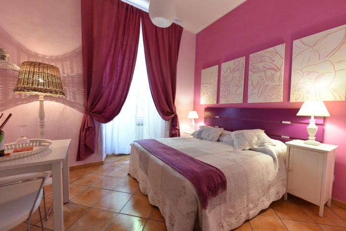 Spring Room at QuodLibet bed and breakfast Rome