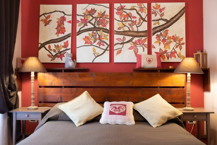 Autunno Room at QuodLibet bed and breakfast Rome