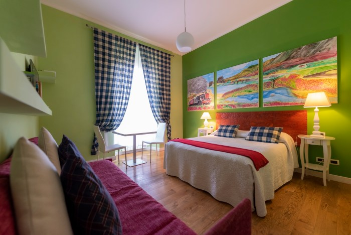 Scottish room quodlibet casa martini bed and breakfast Rome
