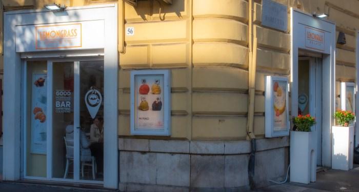 Ice cream by St. Peter's in Rome Lemongrass