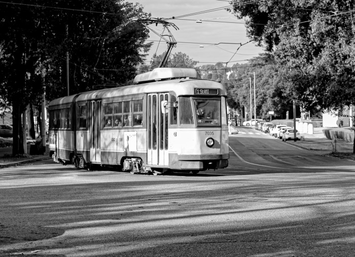 Tram 19 Rome