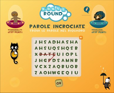 Multiplayer word game