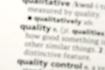 Quality Dictionary Definition