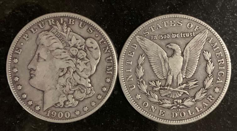 1900 Morgan Silver Dollar Coin Collecting