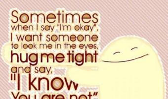 When I say I am OK
