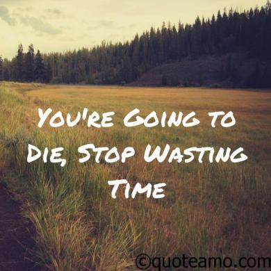 15  Best Quotes and Sayings about Wasting Time   Quote Amo wasting time quotes