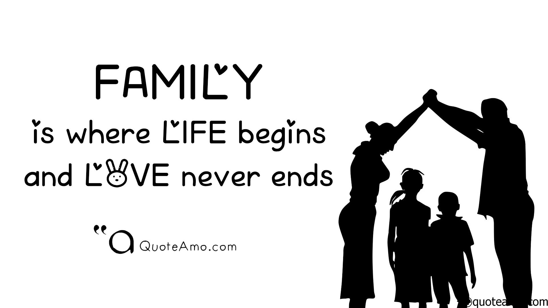 Quotes about FAMILY Background Quotes HD Screen 4 * 4