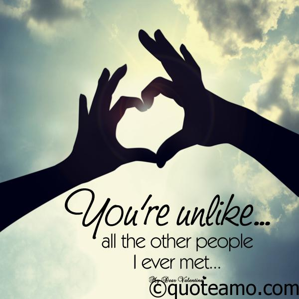 you-re-unlike-people