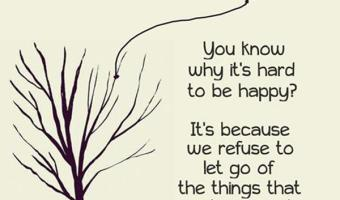 Why it's hard to be happy?