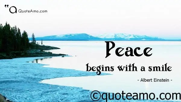 Collection Video Of 15 Best Quotes And Sayings About Peace Quote Amo