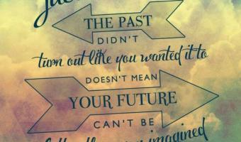 The past cannot stop the future