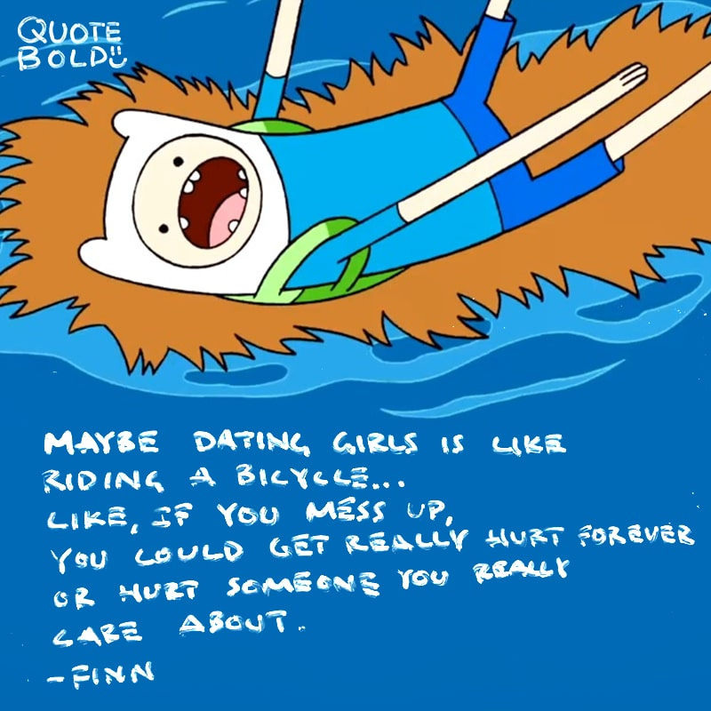 adventure time quote dating