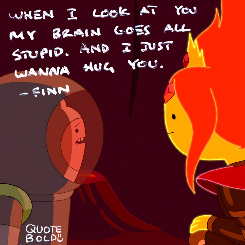 adventure time quote love